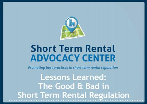 Short Tern Rental Advocacy Center
