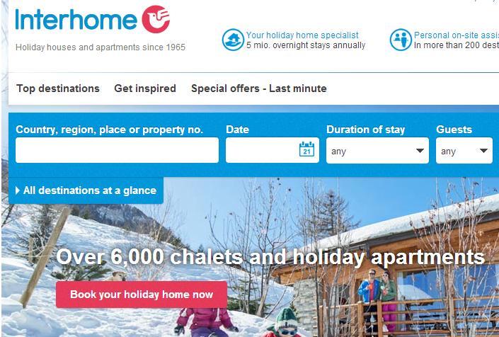 Interhome partners with HomeAway