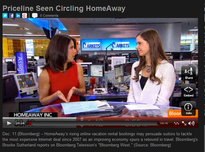 Priceline looking at HomeAway Acquisition?