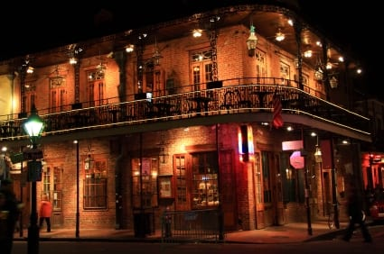 New Orleans vacation rental map