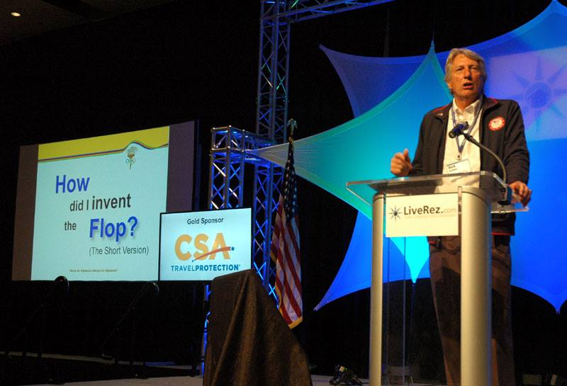 Boise Dick Fosbury talks to vacation rental managers