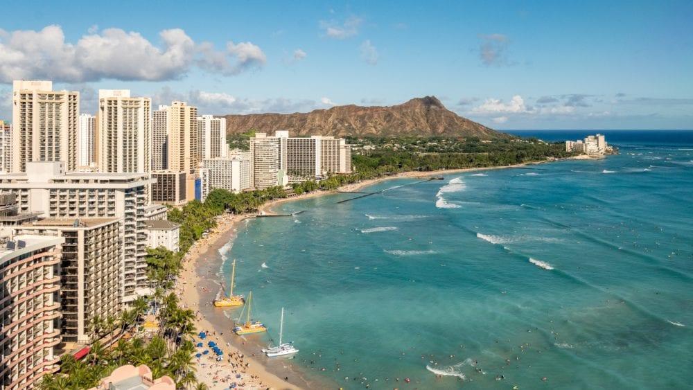 waikiki beach honolulu oahu hawaii vacation