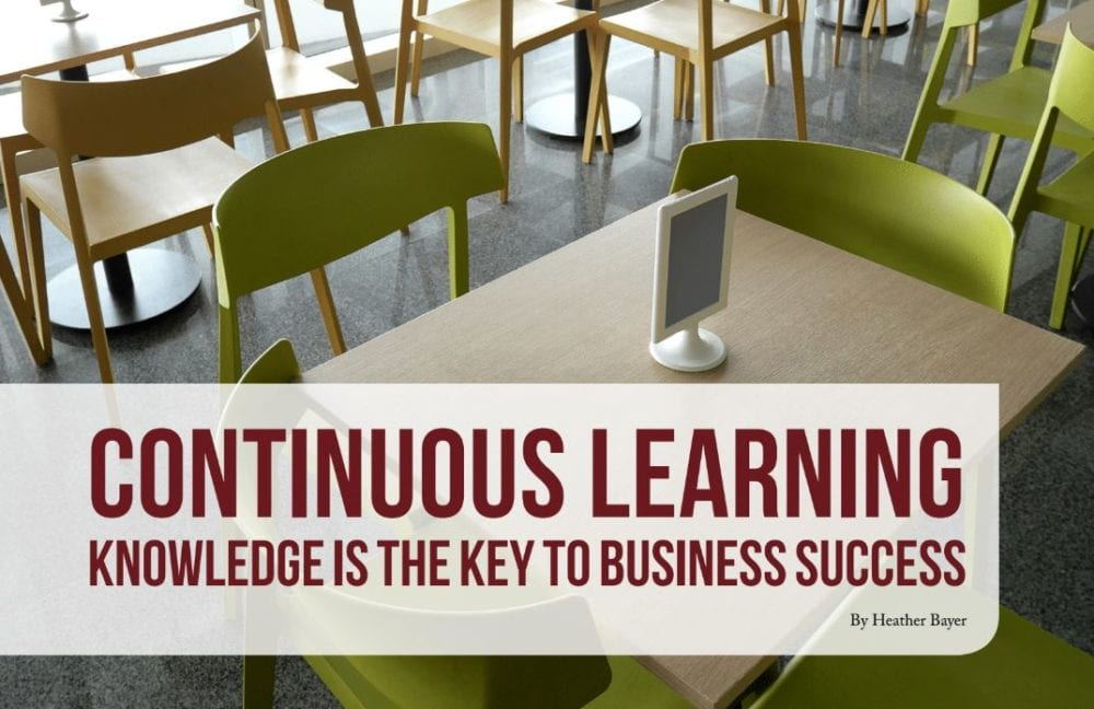 continuous learning key business success heather bayer