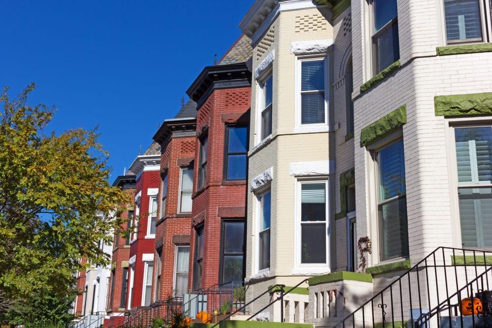 washington dc houses residential neighborhood