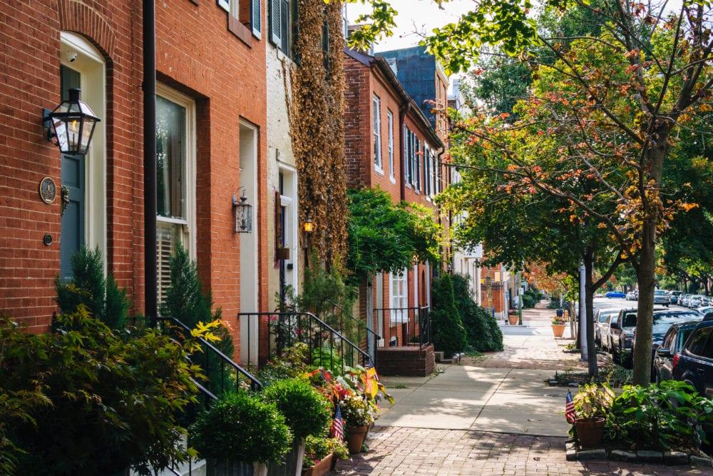 baltimore homes houses residential neighborhood